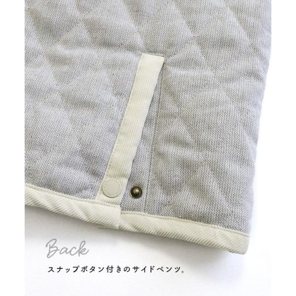 コート フード付 アウター 中綿入り レディース 大きいサイズ ボア ツイード もこもこ あったか 長袖 カジュアル ユニオン|e-zakkamania|11