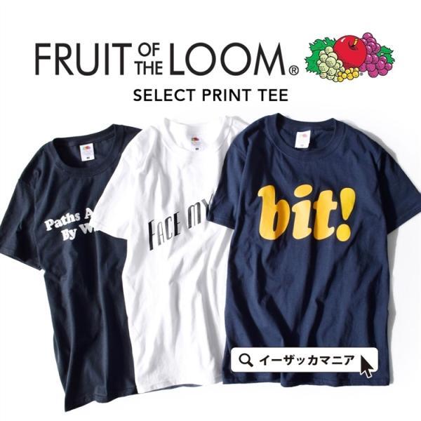フルーツオブザルームTシャツメンズのSMサイズ半袖TシャツレディースカットソーロゴT半袖FruitoftheLoomセレクトプリ