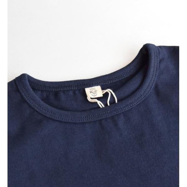 ワンピース 半袖 子供用 子供服 キッズ 女の子 tシャツ Tシャツ ジュニア 無地 ギンガムチェック柄 トップス 綿混 コットン混 春 夏|e-zakkamania|05