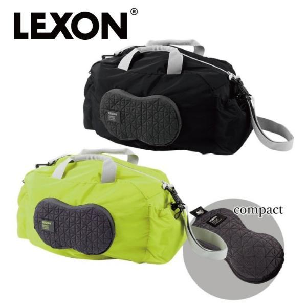 LEXON レクソン ボストンバッグ 軽量 旅行 折り畳み コンパクト ピーナッツジムバッグ LN1512  ギフト プレゼント 贈り物  人気|e-zakkaya