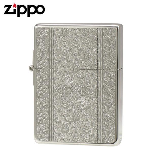 zippo ジッポー ライター 1935 ジッポーライター zippoライター ブランド 1935 ダマスク(A)S・S ホワイトニッケル&メタル ギフト プレゼント 贈り物