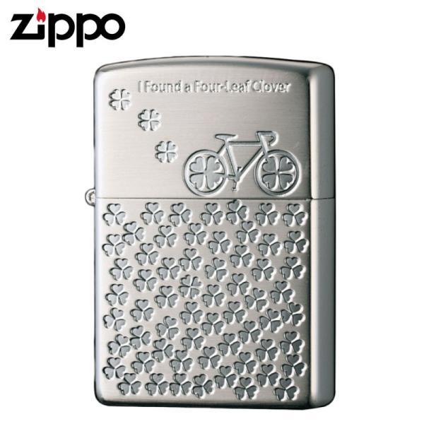 zippo ジッポーライター レディース  かわいい おしゃれ クローバー キュートデザイン 2SS-CLOVER ギフト プレゼント 贈り物  オイルライター ジッポライター 彼