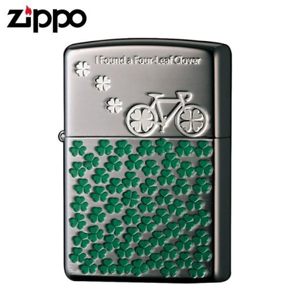 zippo ジッポーライター レディース  かわいい おしゃれ クローバー キュートデザイン 2BN-CLOVER ギフト プレゼント 贈り物  オイルライター ジッポライター 彼