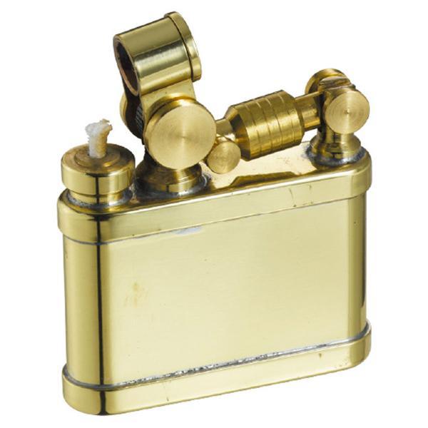 オイルライター スチームパンク かっこいい おしゃれ ミリタリー ビンテージ アンティーク 男性 喫煙具 デューク1 DUKE  ブラス 真鍮 ギフト プレゼント 贈り物