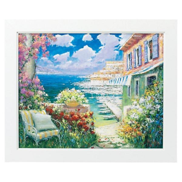 絵画 絵 風景画 海 インテリア 玄関   マルコマヴロヴィッチ 目覚めのキス(L) MM-08003