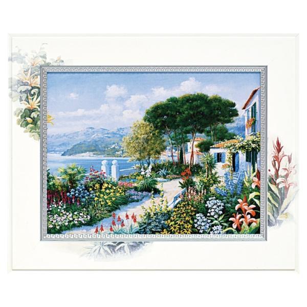 絵画 絵 風景画 壁掛け ピーターモッツ ビッグアート カーサリグーリア BA-06007