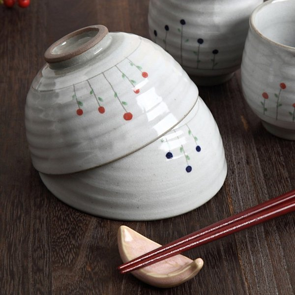 茶碗 ペア 夫婦茶碗 和柄 おしゃれ 立花 飯碗 ギフト プレゼント 贈り物  記念品|e-zakkaya