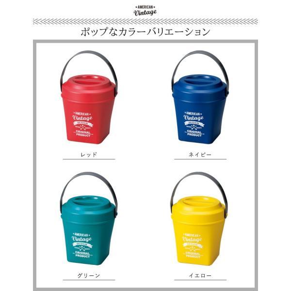 弁当箱 2段 メンズ 食洗機対応 レンジ対応 アメリカンビンテージ バスケットランチ tall|e-zakkaya|05