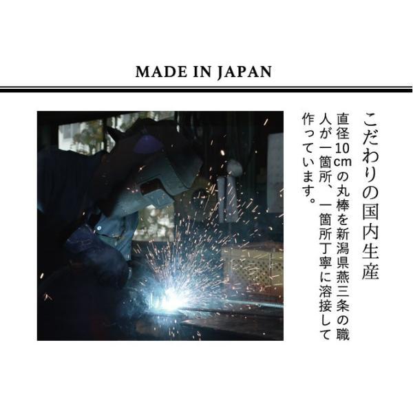 レンジラック キッチンラック アイアンラック 木製 おしゃれ レンジラック BOW メーカー直送|e-zakkaya|06