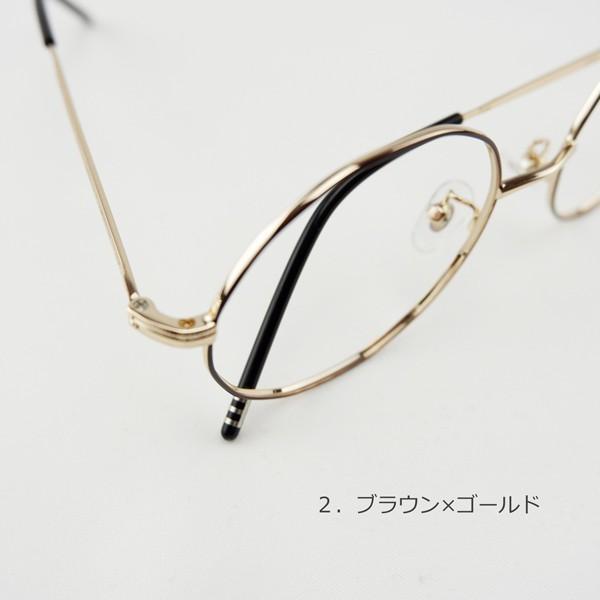 多角形 おしゃれな12角形 度付きメガネ ダテめがね|e-zone|11