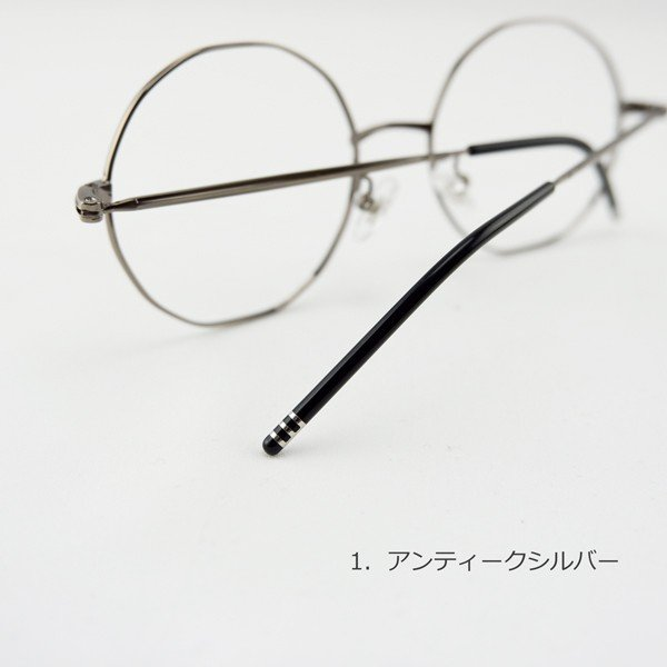 多角形 おしゃれな12角形 度付きメガネ ダテめがね|e-zone|10