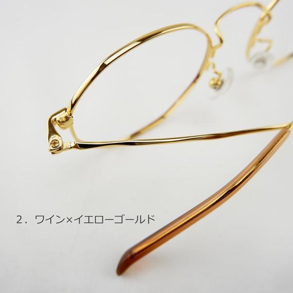 多角形 おしゃれな八角形 度付きメガネ ダテめがね|e-zone|12