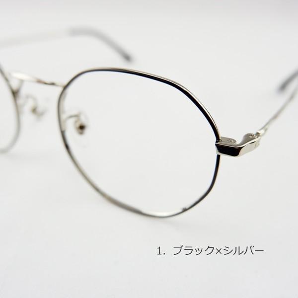 多角形 おしゃれな八角形 度付きメガネ ダテめがね|e-zone|10
