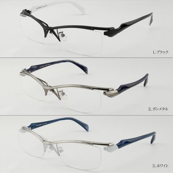 白いフレーム おしゃれ ホワイト メンズ 度付きメガネ ダテめがね ブルーライトカット|e-zone|11