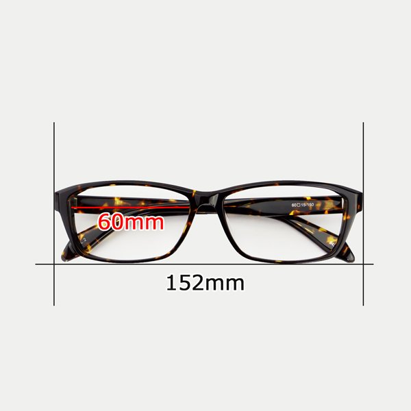 大きいフレーム 60サイズ 大きめサイズのメンズスクエア 度付きメガネ ダテめがね 大きい顔向き z8434|e-zone|12