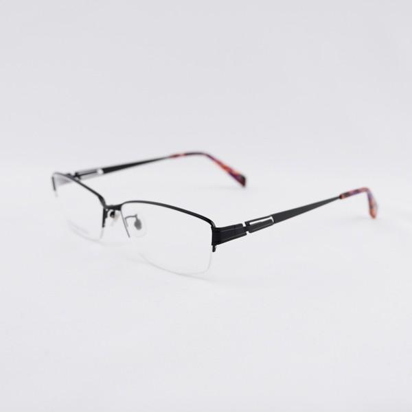 大きいフレーム 度付きメガネ ダテめがね メタル メンズ ブルーライトカット 大きな顔向き|e-zone|16