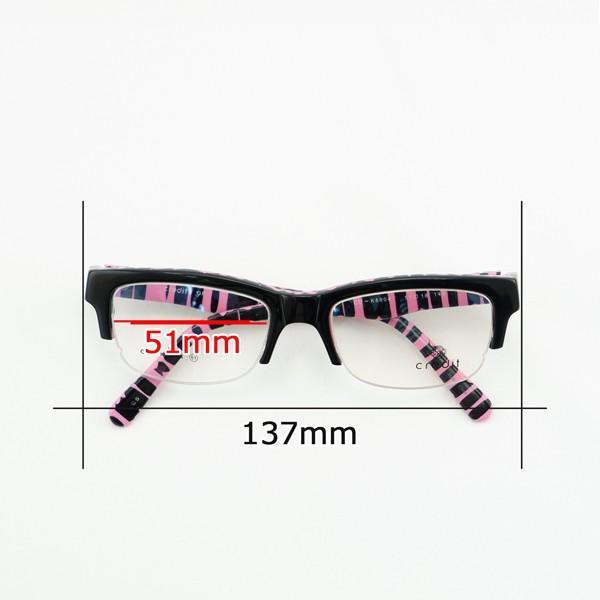 珍しい 個性的 セルフレーム 度付きメガネ ダテめがね ピンク ブルーライトカット|e-zone|07