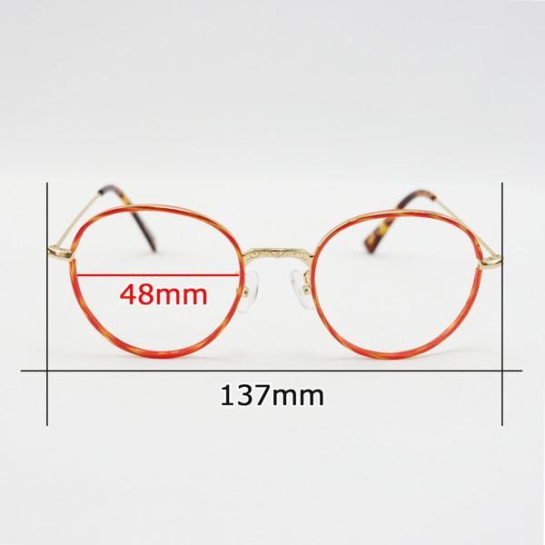 セル巻き ボストン おしゃれ レディース 度付きメガネ ダテめがね|e-zone|10