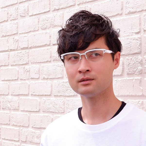 白いフレーム おしゃれ ホワイト サーモント ナイロール メンズ 度付きメガネ ダテめがね ブルーライトカット|e-zone|08