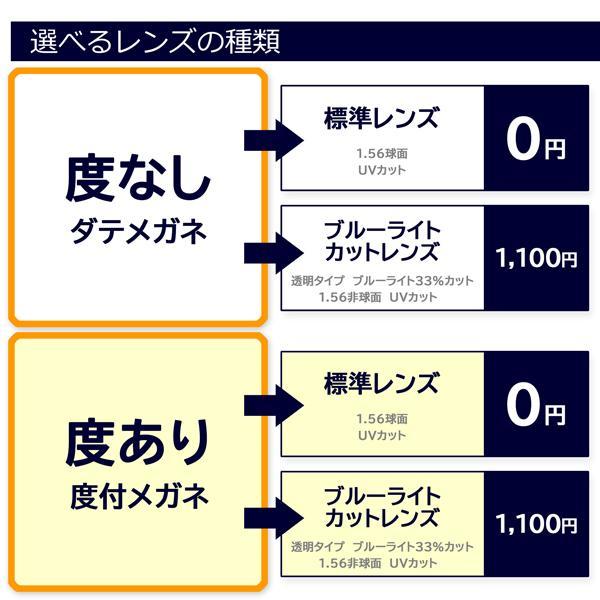 丸メガネ 度付きメガネ ダテめがね クラシックセル mobo.moga(モボモガ)ブルーライトカット  e-zone 10