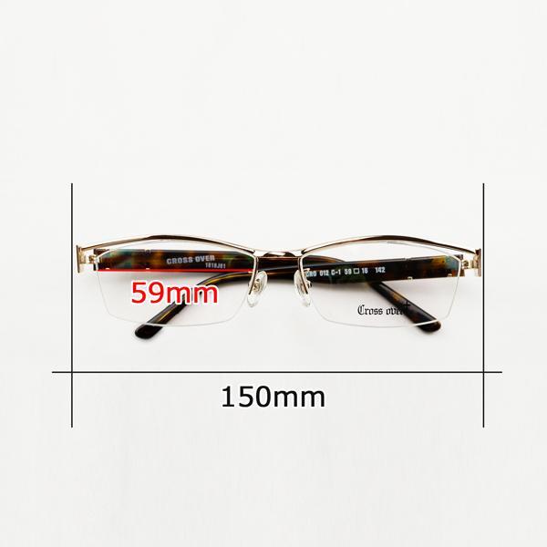 大きいフレーム メタル 白フレーム ホワイト ゴールド おしゃれ メンズ 度付きメガネ ダテめがね|e-zone|08