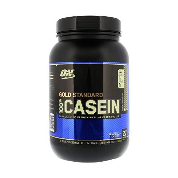 オプティマムニュートリション(Optimum Nutrition) ゴールドスタンダードカゼインプロテイン クッキー クリーム Gold|ea-s-t-store