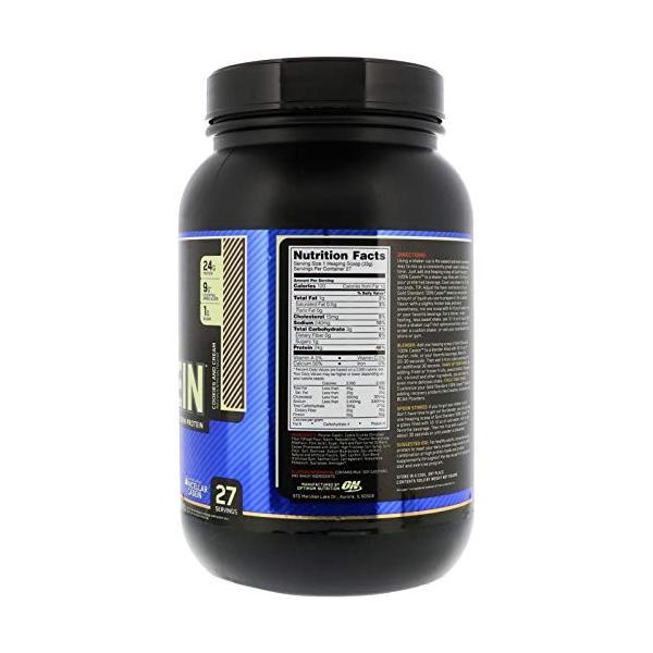 オプティマムニュートリション(Optimum Nutrition) ゴールドスタンダードカゼインプロテイン クッキー クリーム Gold|ea-s-t-store|02