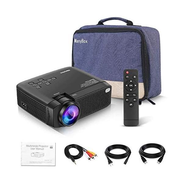 LED プロジェクター 小型 フルHD対応 3600lm 1080P 19201080最大解像度 台形補正 スピーカーが二つ内蔵 パソコン/スマ|ea-s-t-store|07
