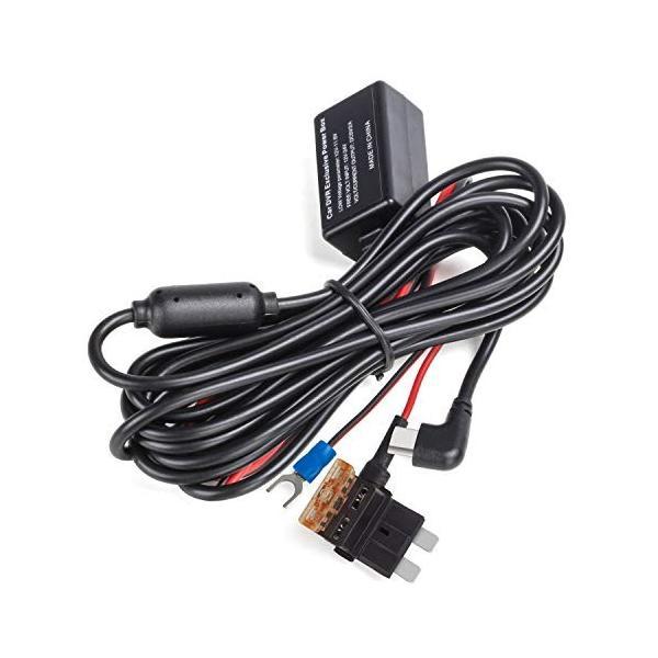 AUTO-VOX V5用 Type-c口 平型降圧ケーブル 2V/24Vを5V/2Aに変換用コンバーター 電圧保護 過電流保護|ea-s-t-store