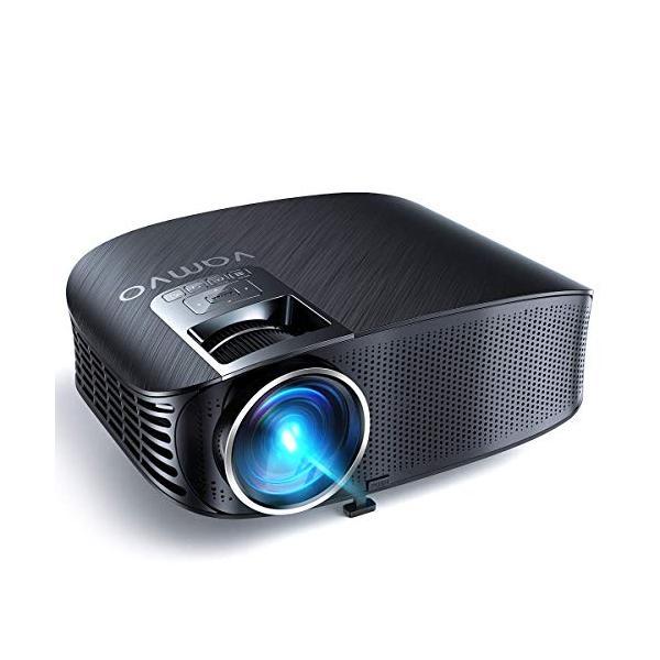 Vamvo プロジェクター LED ホームプロジェクター 3500ルーメン 1080p最大解像度 HDMIケーブル付属 L3600 特別なアイテ|ea-s-t-store