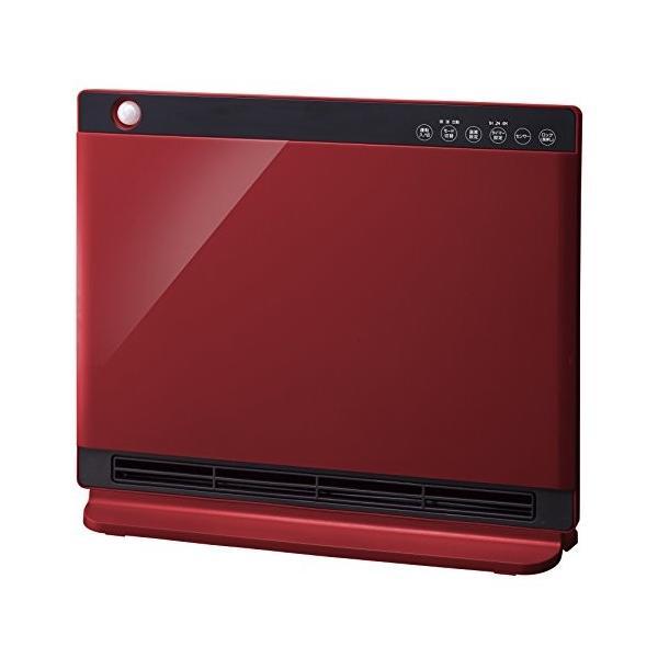 人感/室温センサー付 パネルセラミックヒーター「NEWヒートワイドスリム」 レッド CHT-1636RD|ea-s-t-store