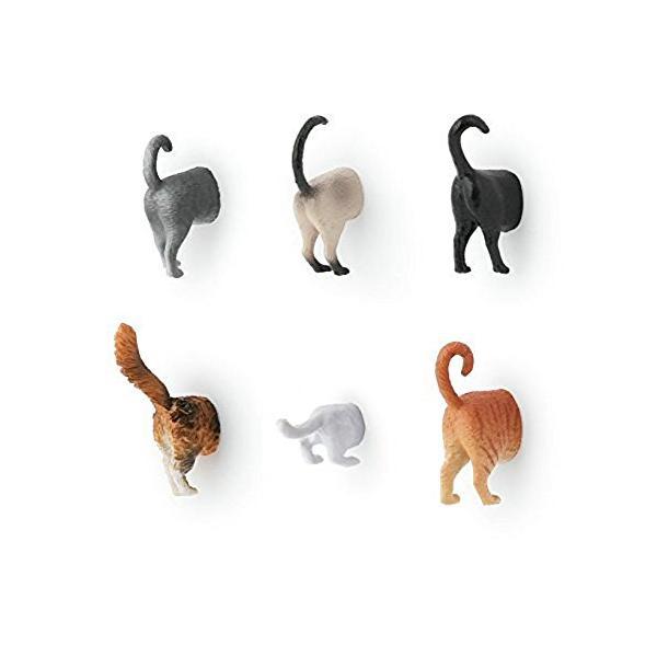 KIKKERLAND Cat Butt Magnets キャットバットマグネット MG53|ea-s-t-store