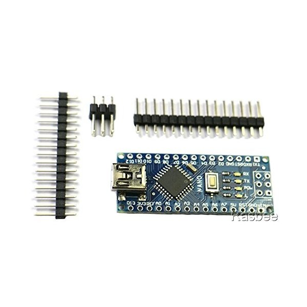 Rasbee 5個 Mini USB Nano V3.0 ATmega328P CH340 国内配送 マイクロコントローラーボード Nanoボード Arduino用 並行輸入品|ea-s-t-store|03