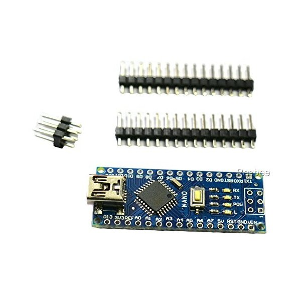 Rasbee 5個 Mini USB Nano V3.0 ATmega328P CH340 国内配送 マイクロコントローラーボード Nanoボード Arduino用 並行輸入品|ea-s-t-store|04