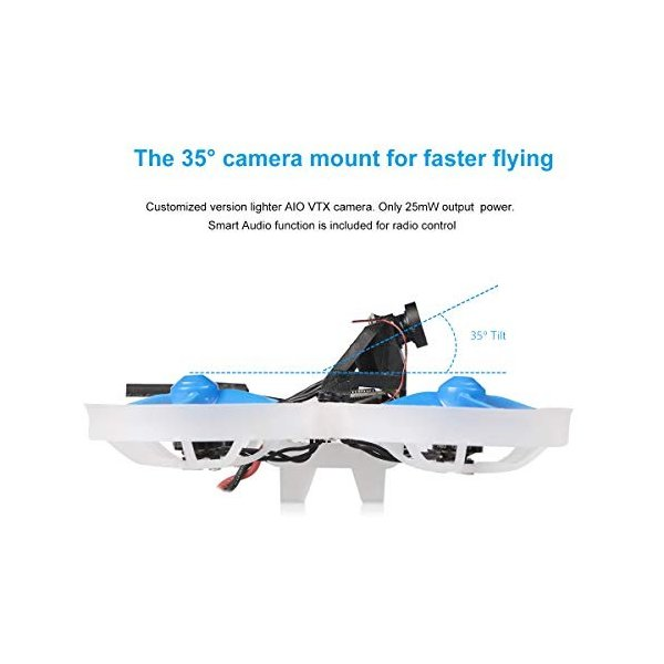 BETAFPV Beta75 Pro 2 Brushless Whoop Drone with 2S F4 AIO FC Futaba Recevier 5A ESC 25mW Z02 Camera 35 Degree OSD Smart Audio 12000KV 08028 Motor PH2.|ea-s-t-store|04