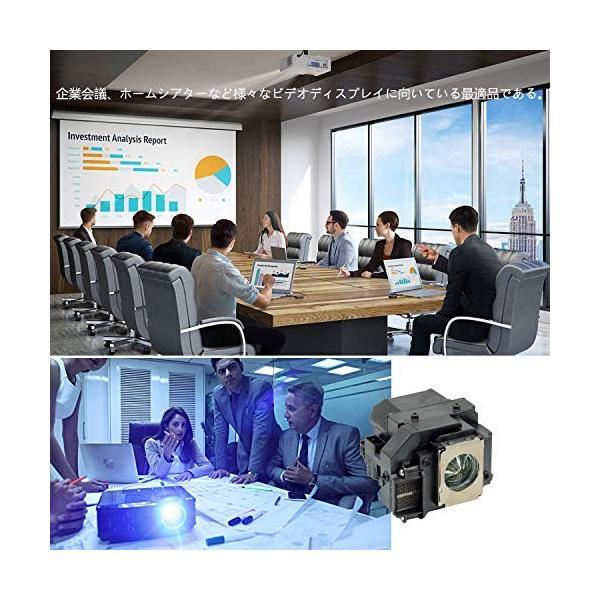 Rich Lighting プロジェクター 交換用 ランプ ELPLP58 エプソン EPSON EB-S10, EB-S10C8, EB-S9, EB-W10, EB-W10C8, EB-W9, EB-X10, EB-X10C8,|ea-s-t-store|06