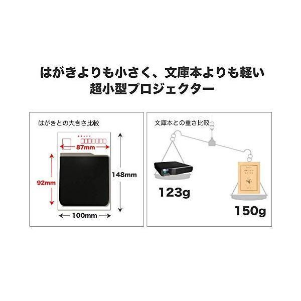 小型プロジェクター【FunLogy】超小型 モバイルプロジェクターFN-02(1000ルーメン) 国内ブランド 日本語説明書 ea-s-t-store 03