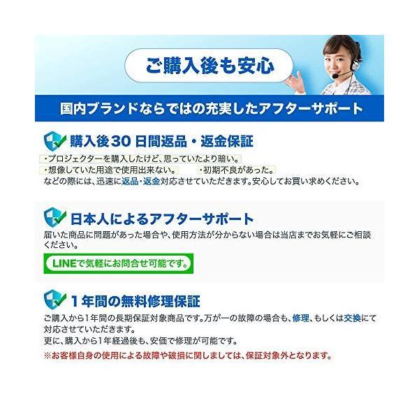 小型プロジェクター【FunLogy】超小型 モバイルプロジェクターFN-02(1000ルーメン) 国内ブランド 日本語説明書 ea-s-t-store 07