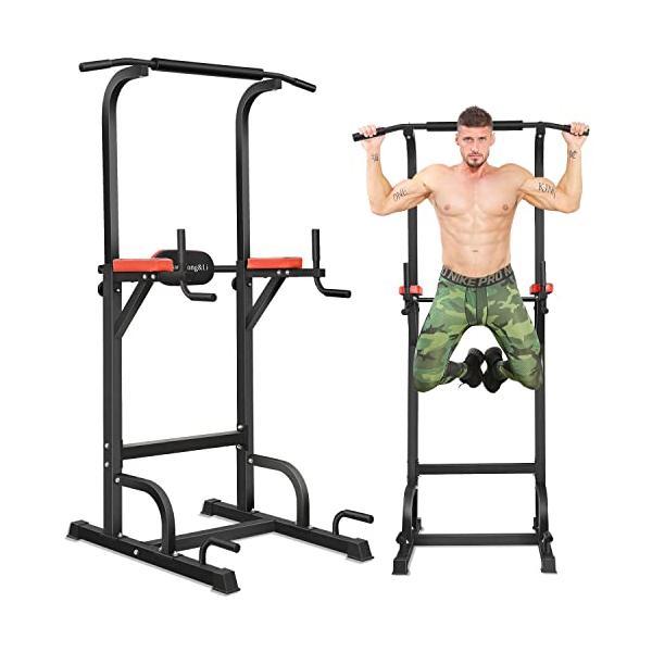 BangTong&Li ぶら下がり健康器 懸垂マシン チンニングスタンド 2019改良強化版 多機能 筋力 筋肉トレーニトレング ea-s-t-store
