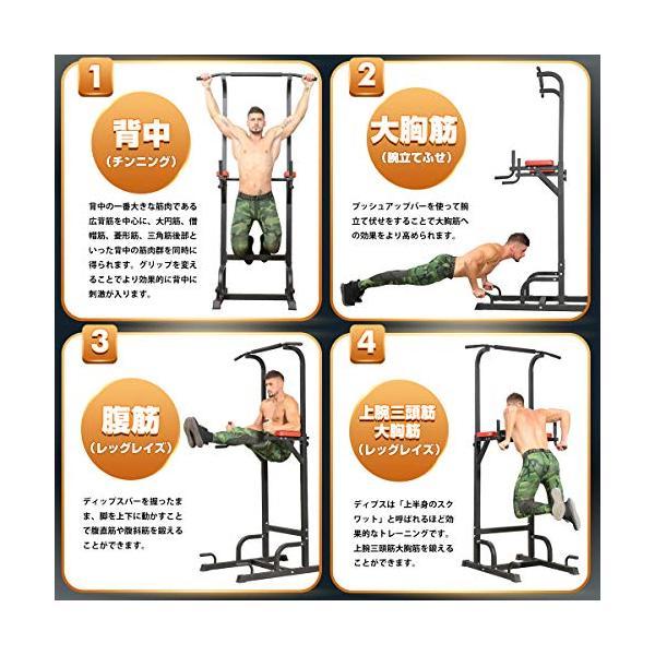BangTong&Li ぶら下がり健康器 懸垂マシン チンニングスタンド 2019改良強化版 多機能 筋力 筋肉トレーニトレング ea-s-t-store 03