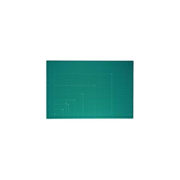 レビューで次回2000円オフ 直送 プラス カッターマット A1 GR CS-A1 緑 生活用品・インテリア・雑貨 文具・オフィス用品 カッターマット・カッティングマット