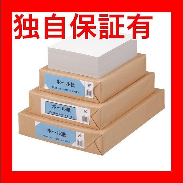 レビューで次回2000円オフ 直送 (まとめ) TANOSEE ボール紙 A4 1パック(100枚) 〔×4セット〕 生活用品・インテリア・雑貨 文具・オフィス用品 その他の文具