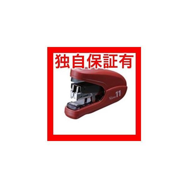 レビューで次回2000円オフ 直送 (業務用30セット) マックス ホッチキスバイモ11 HD-11FLK/R 赤 HD90302 生活用品・インテリア・雑貨 文具・オフィス用品 ホッチ