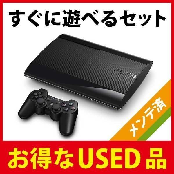 PlayStation3本体 500GB チャコールブラック CECH-4000Cの画像