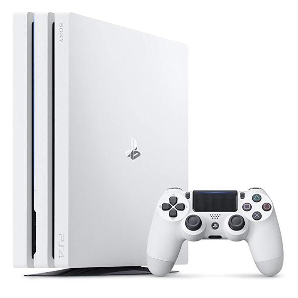 PlayStation4 Pro グレイシャー・ホワイト 1TB CUH-7000BB02の画像