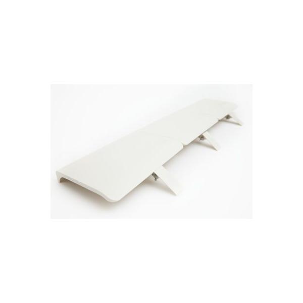 エアコン 風よけ 風除け カバー 風避け 風向き 暖房 乾燥 業務用 オフィス ルーバー エアーウィング フレックス アイボリー AW13-021-04 AIR WING Flex|eakonkazeyoke|04