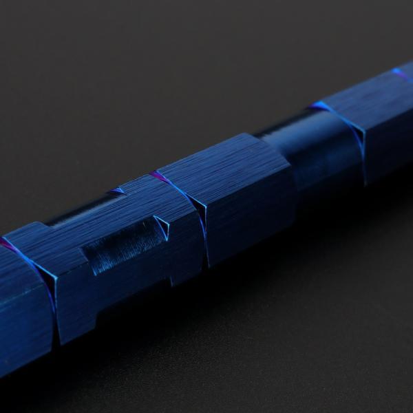 汎用 トルクロッド ステンレス Aタイプ Lサイズ 330mm バイク 二輪 ブルー TH0068|eale|02