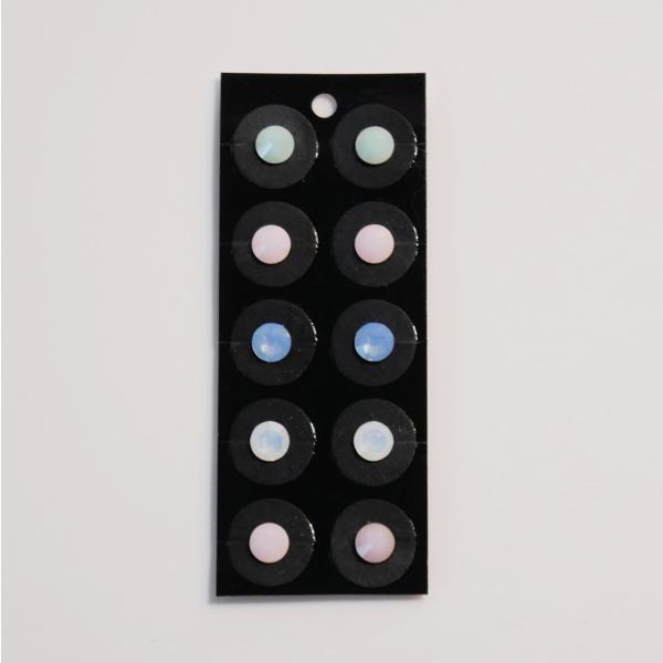 マカロンカラー アソートシリーズ 耳つぼジュエリー 4カラー 10粒|ear-heartdrop|02
