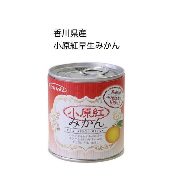 小原紅みかん缶詰 295g 国産 香川県産 おはらべにわせみかん 讃岐罐詰