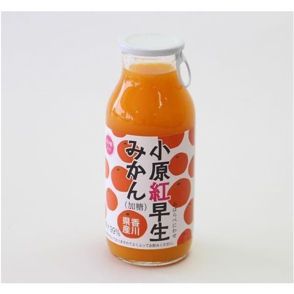小原紅早生 おはらべにわせ みかんジュース 180ml 希少糖含有 香川県産 国産 讃岐罐詰